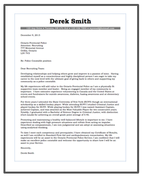examples of resumes cover letters police test tutor
